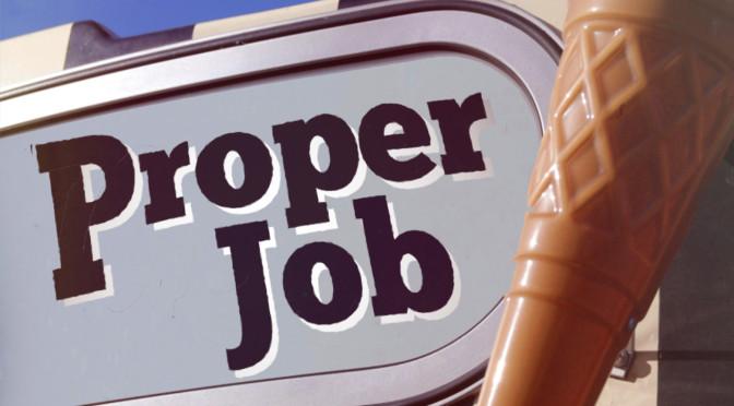 "<span class=""quo"">'</span>Proper Job' free"